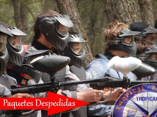 Despedidas Campo Paintball Granada