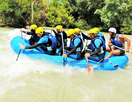 Donde hacer Rafting</p></span></span>...	 	 	 	 	 	 	 </article>       <article class=