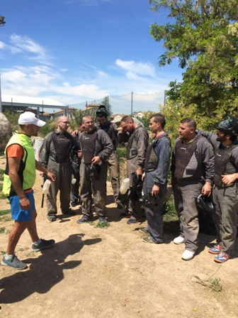 Despedidas Paintball Barranquismo Rafting Andalucia