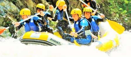 Descenso de rios Rafting